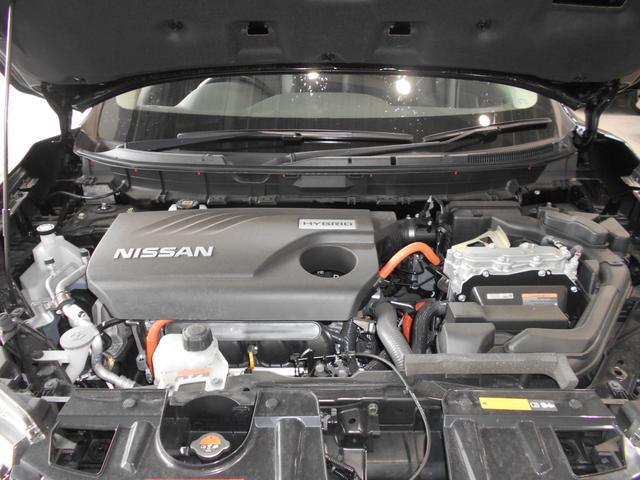 モーターとエンジンの得意な領域を上手に使い分け、状況に応じて効率の良い走りを選択!日産独自の高性能ハイブリッドシステム!