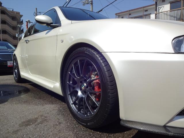 アルファロメオ アルファ147 GTAセレスピード 車高調 社外ナビ・TV・DVD再生Bカメ
