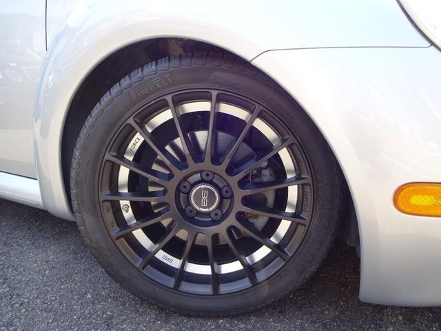 フォルクスワーゲン VW ニュービートル ターボ 5MT車 本革シート 社外17アルミ ローダウン