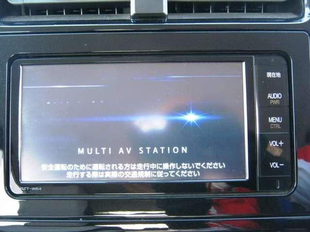 ★純正ナビゲーション★ 純正ナビ付きで知らない土地のドライブも安心!CD、DVD、TVも楽しめます♪