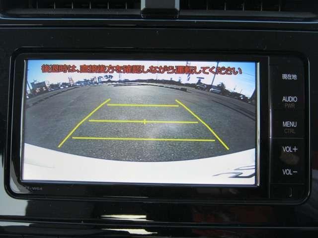 ★バックモニター★ 駐車が苦手な人の強い味方!後ろの様子が確認できます