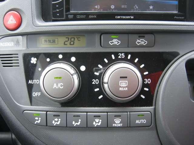 オートエアコンなのでいつも快適な温度が保てます(^-^)