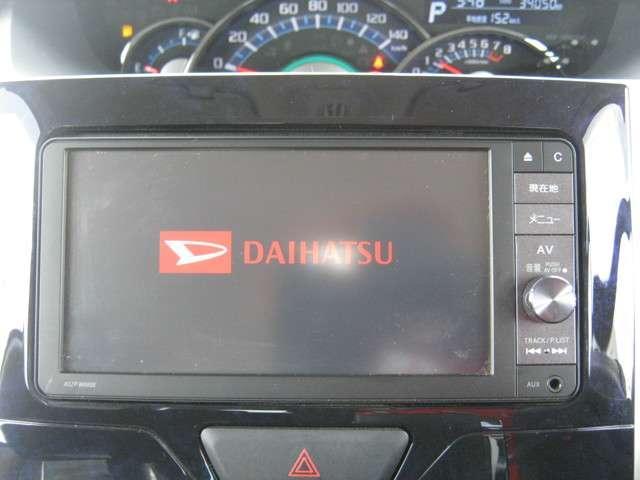 「純正ナビ」 純正SDナビ付きで知らない土地のドライブも安心!CD、DVDビデオ、フルセグTVも楽しめます♪
