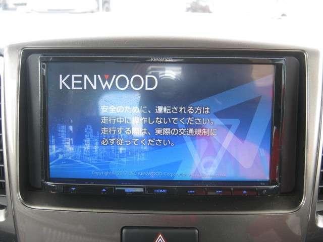 「純正ナビ」 ケンウッド製メモリーナビ付きで知らない土地のドライブも安心!CD、DVDビデオ、フルセグTVも楽しめます♪