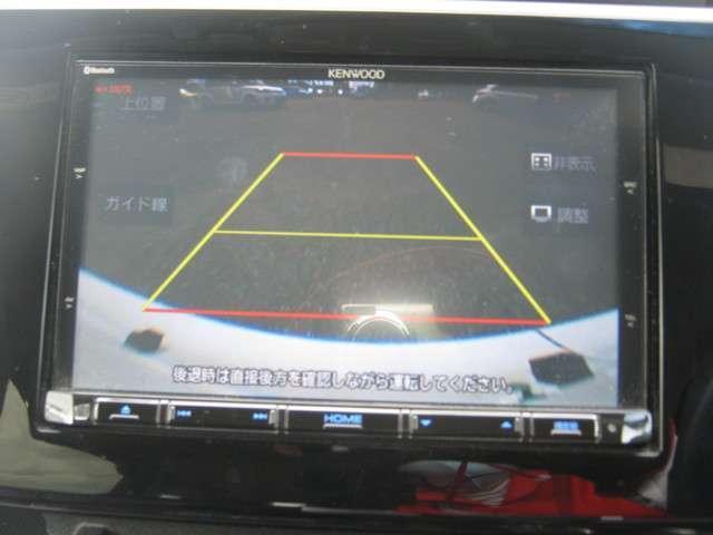 「カーナビ」 ケンウッド製8インチメモリーナビ付きで知らない土地のドライブも安心!CD、DVDビデオ、フルセグTVも楽しめます♪