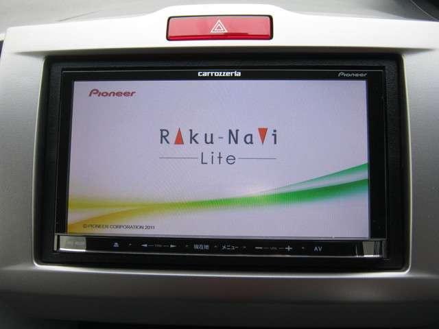 「カーナビ」 カロッツェリア製ナビ付きで知らない土地のドライブも安心!CD、DVDビデオ、フルセグTVも楽しめます♪
