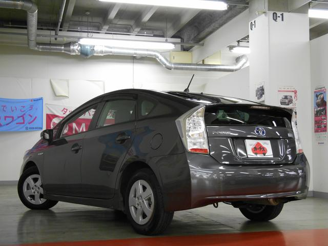 トヨタ プリウス S LEDエディション 地デジ純正ナビ&バックガイドモニター