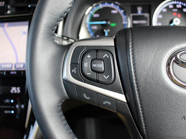 トヨタ ハリアーハイブリッド E-Fourプレミアム 4WD 9型ナビ モデリスタエアロ