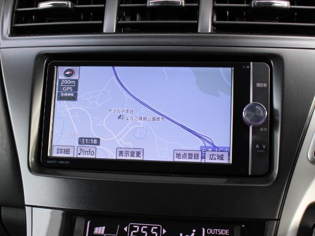 トヨタ プリウスアルファ Sツーリングセレクション SDナビ Bカメラ ETC LED