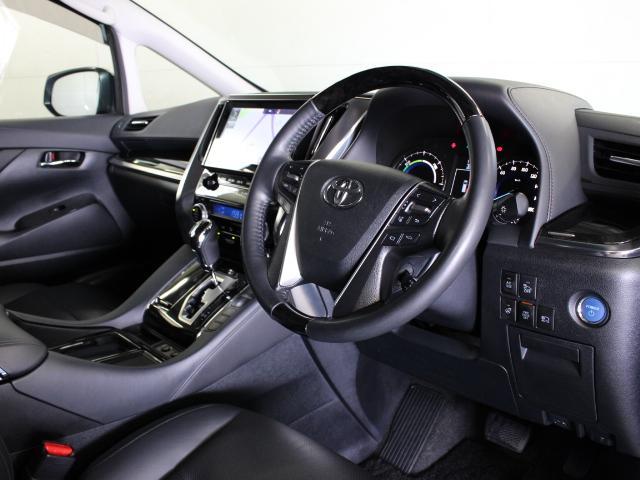 トヨタ アルファードハイブリッド SR Cパッケージ 本革 JBLメーカーナビ PCS エアロ