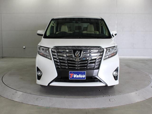 トヨタ アルファード 3.5GF 9型ナビ 後席TV ETC LED 本革