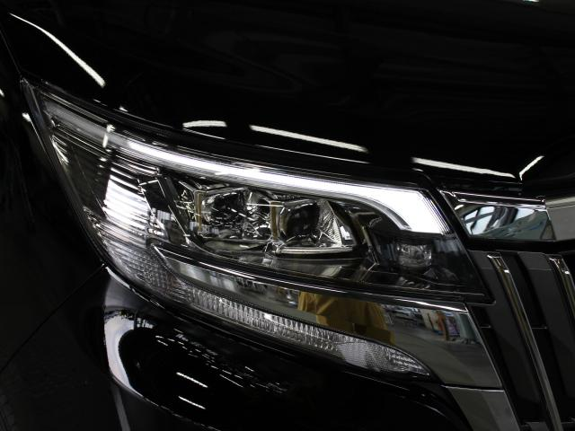 Bi-Beam LEDヘッドランプ(オートレベリング機構付)と面発光のLEDクリアランスランプが採用されています。