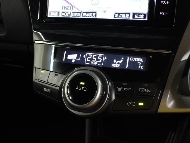 オートエアコンは操作性にも徹底的に配慮しており、「風量調節」「設定温度切替」「吹き出し口切替」の3つの機能を、1つのダイヤルで簡単に操作できます。