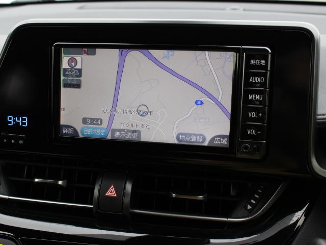 安全を考慮し、視線移動の少ない位置にセットされた純正SDナビ!CD、ワンセグTV搭載です。