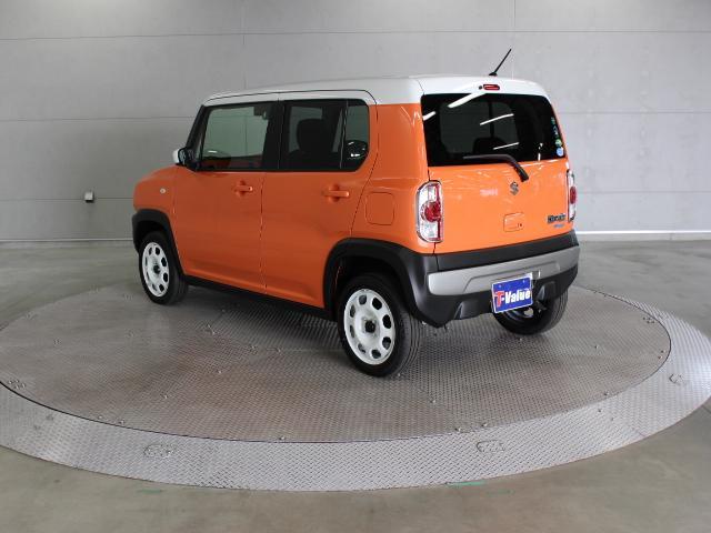 スズキから販売された、SUVとセミハイトワゴンを融合させた新しいタイプの軽自動車「ハスラー」です。