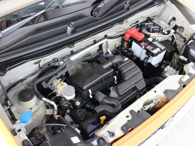 R06A型 658cc 直3 DOHCエンジンとWA04A型 直流同期電動機のマイルドハイブリッドシステム搭載、FF駆動です。