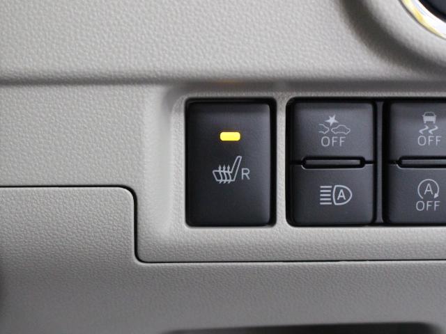 寒い日でも快適なドライブをサポートするシートヒーターが装備されています。