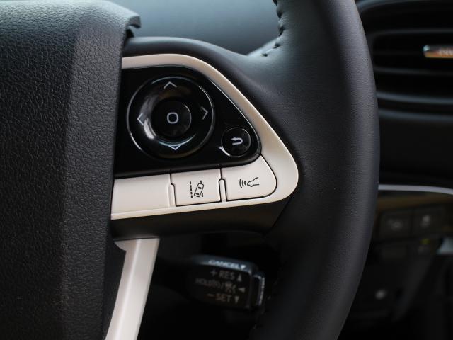 レーダークルーズコントロールには全車速追従機能を搭載し、ミリ波レーダーと単眼カメラで先行車を認識し、車速に応じた車間距離を保ちながら先行車に追従し、ドライバーの運転負荷を軽減します。