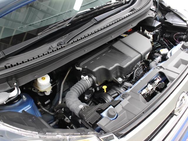 3B20型 直3 660cc DOHCエンジン搭載、FF駆動です。