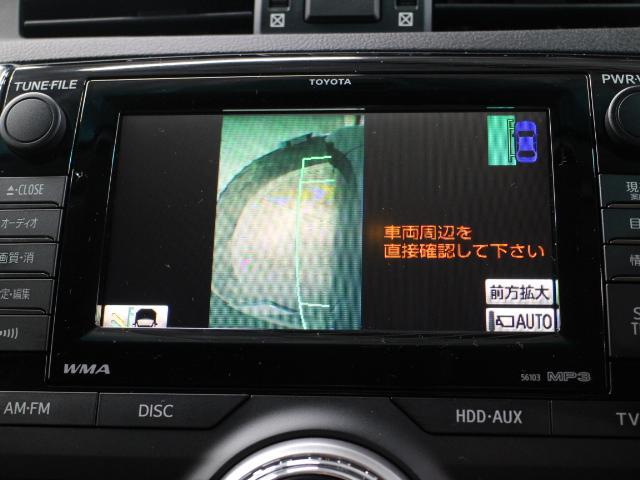 運転席からの死角となる左サイドの死角を映し出し、安全に貢献するサイドモニターとフロントモニター、バックモニターが搭載されています。