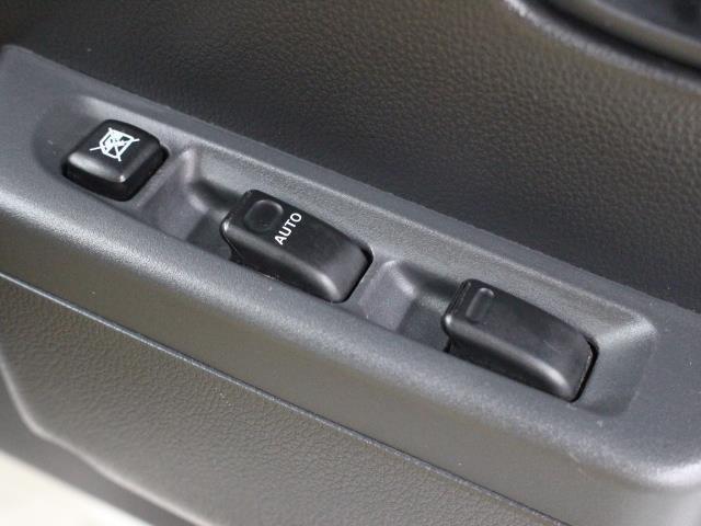 運転席と助手席にはパワーウィンドウが装備されています。