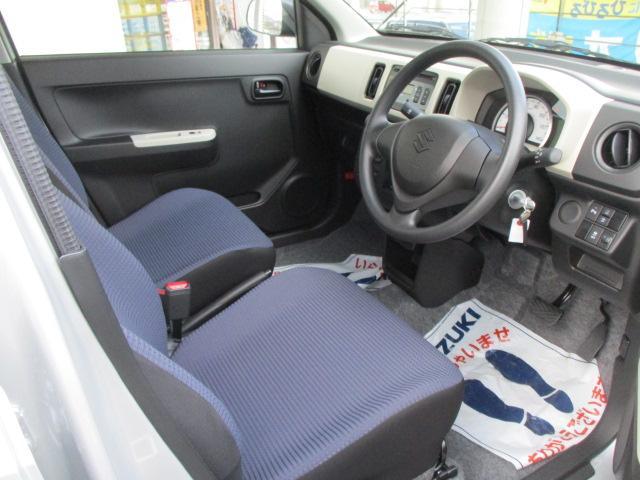 F セーフティサポート装着車 5AGS車 スズキ保証付 軽自動車 届出済未使用車(9枚目)
