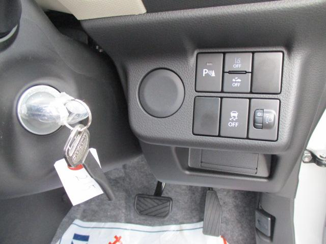 F セーフティサポート装着車 5AGS車 スズキ保証付 軽自動車 届出済未使用車(11枚目)