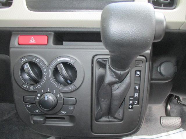 F セーフティサポート装着車 5AGS車 スズキ保証付 軽自動車 届出済未使用車(13枚目)