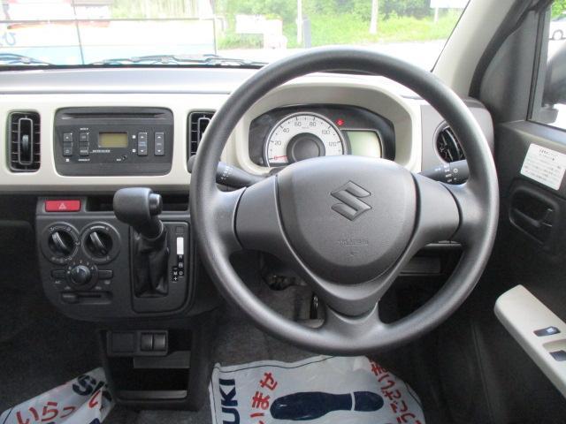 F セーフティサポート装着車 5AGS車 スズキ保証付 軽自動車 届出済未使用車(17枚目)