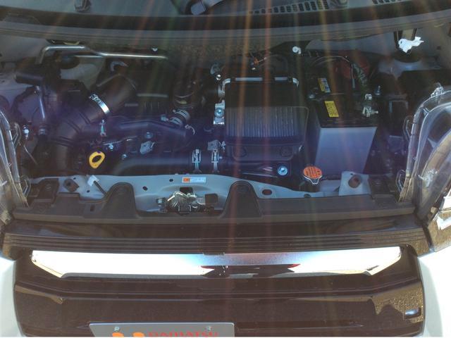 エンジンルームの画像です