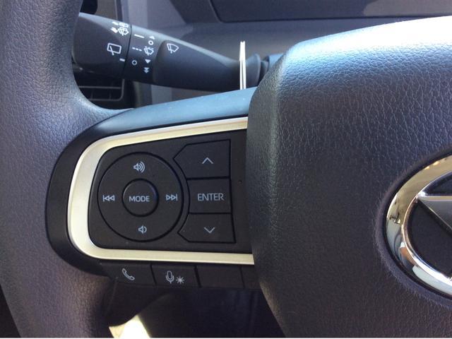 ステアリングスイッチです♪オーディオの音量等を手元でコントロールできますので利便性だけでなく事故防止にも繋がります。