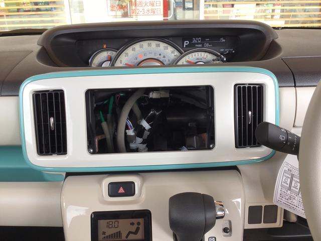 オーディオレス車ですが、ナビかオーディオのどちらかを選んで取付できますので、何なりと相談ください!