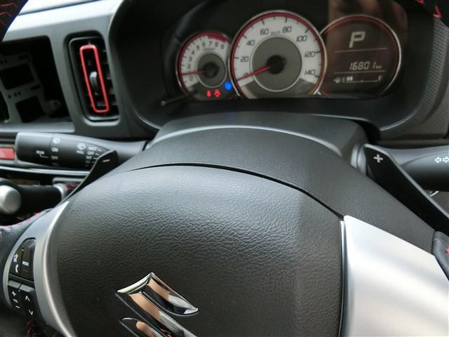 スズキ アルトターボRS ブレーキサポート パドルシフト アイドリングストップ  保証