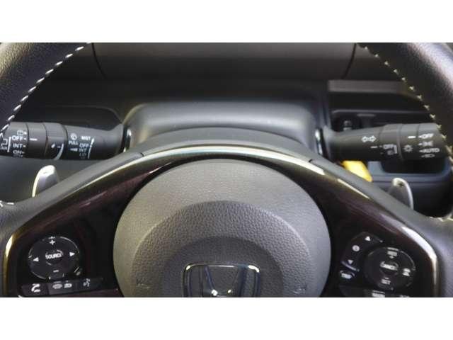 G・Lターボホンダセンシング 衝突軽減ブレーキ フルセグメモリーナビ LEDヘッドライト シートヒーター パドルシフト 左右パワスラ コンビシート ターボ車 クルコン アイスト チップアップ、ダイブダウン式リアシート スマキー(16枚目)
