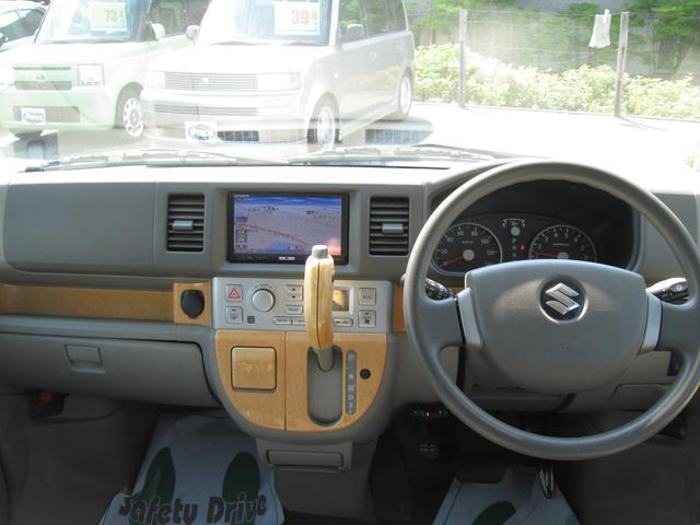 スズキ エブリイワゴン PZターボスペシャル 社外フルセグHDDナビETC