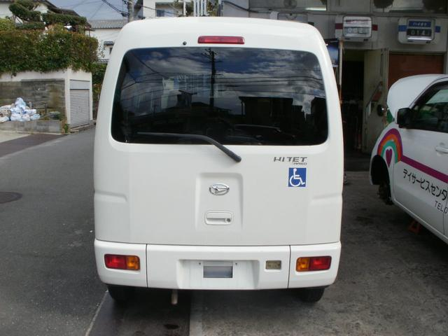 ダイハツ ハイゼットカーゴ 福祉車両 タクシー仕様 スローパー  電動固定 ウインチ