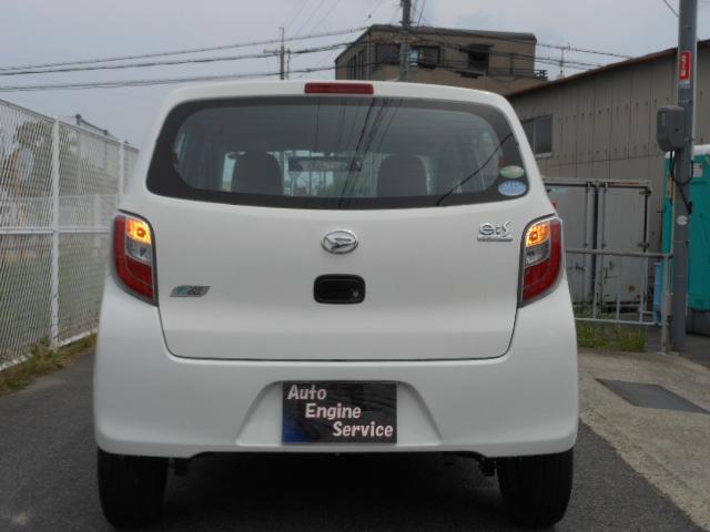 ダイハツ ミライース D CVT アイドルストップ Tチェーン 社外14アルミ
