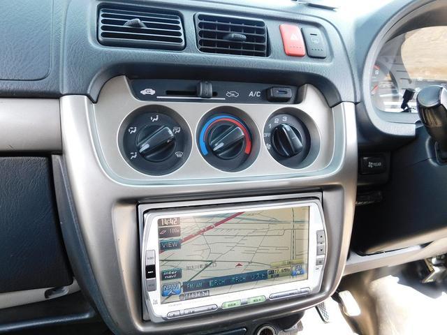 ベースグレード 4WD5速MT タイベル交換 純正HDDナビ(15枚目)