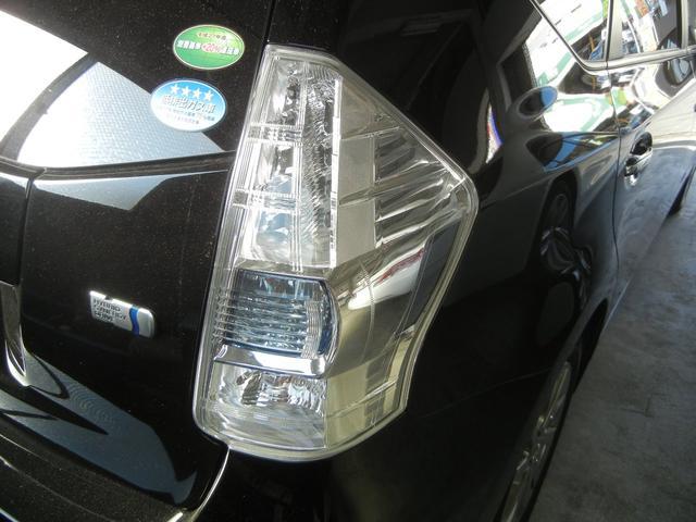 トヨタ プリウスアルファ G チューン B 純正8インチナビ フルセグTV Bモニター