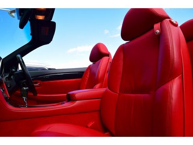 SC430 赤革 マクレビ シートヒーター メーカーナビ(12枚目)
