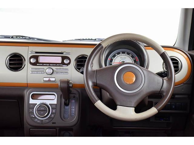 X ワンオーナー HIDライト 専用レザー調シート 純正CDオーディオ アイドリングストップ 本革巻きステアリング(10枚目)