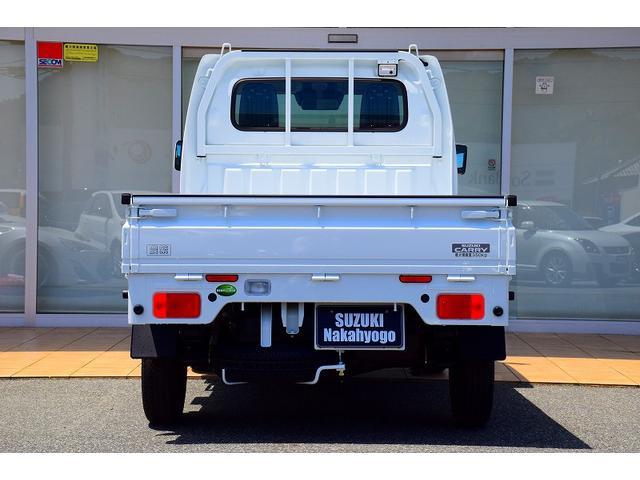 農繁スペシャル セーフティサポート キーレスキー 特別仕様 高低速2段切替式4WD ブラックメッキFガーニッシュ PW 5MT(10枚目)