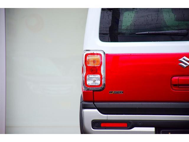 Jスタイルターボ 届出済未使用車 ターボ車 全方位モニター付ナビゲーション スズキセーフティサポート 2トーン 特別仕様車 専用シート LEDヘッドライト オートマチックハイビーム シートヒーター ルーフレール(45枚目)