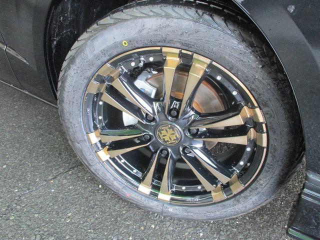 ハーツ「ファング」18インチ特注ブロンズカラー!オプションで国産タイヤ変更OK!