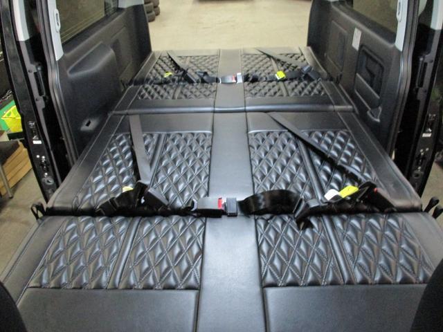 ダークプライム 4ナンバー8人乗り3列シート ロングスライド(11枚目)