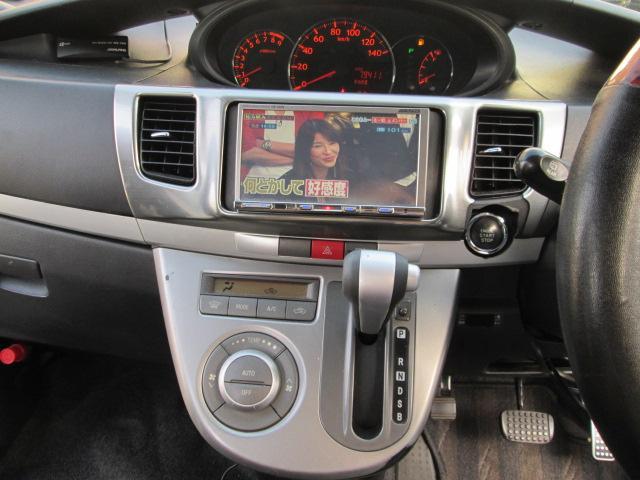 ダイハツ ムーヴ カスタム RS HDDナビフルセグTV5.1ch仕様