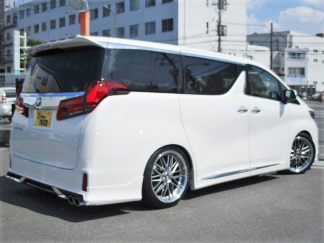 2.5S Cパッケージ モデリスタエアロ タナベ車高調 20インチアルミ ムーンルーフ 両側パワースライドドア 三眼LEDヘッドライト シートベンチレーション シーケンシャルウィンカー ディスプレイオーディオ シートメモリー(7枚目)