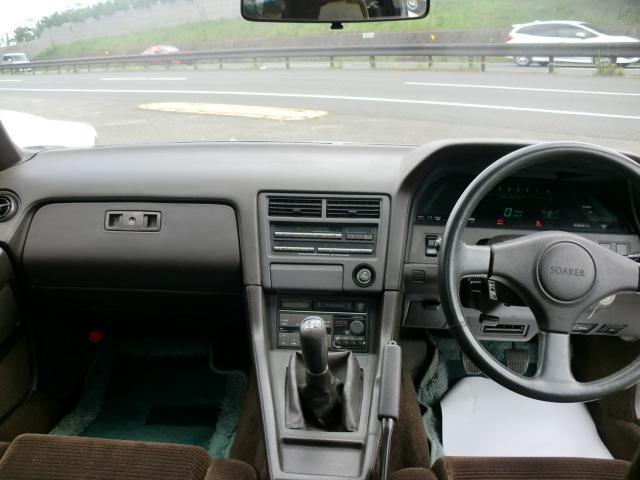 トヨタ ソアラ 2.0GT-ツインターボ 純正5速 実走行ワンオーナー車