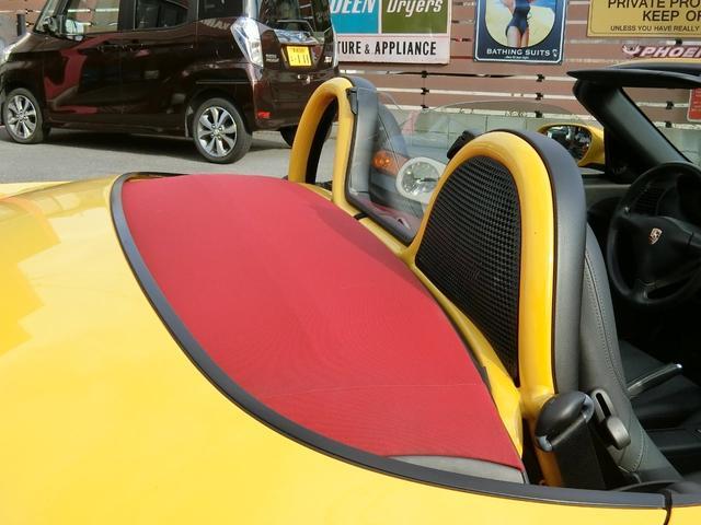 ポルシェ ポルシェ ボクスター エクスクルーシブ 50台限定車 5速マニュアル