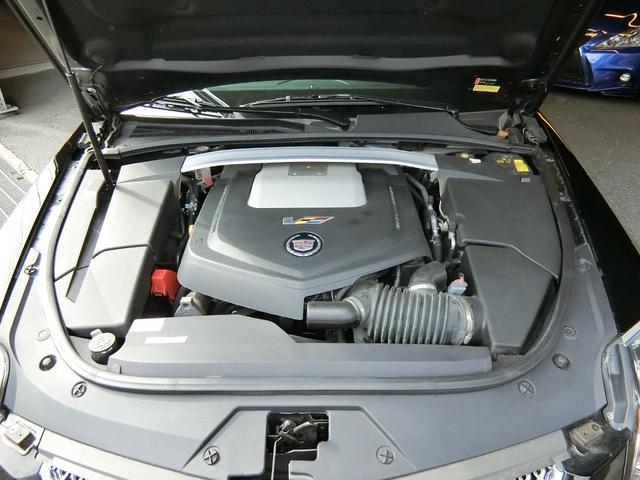 CTS-Vプレミアム 正規ディーラー車 V8 6200cc スーパーチャージャー 564馬力 純正RECARO製パワーシート 純正ナビ/地デジFセグTV/バックカメラ(42枚目)